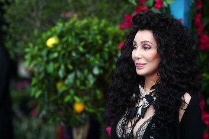 """Imagen de archivo de Cher asistiendo al estreno mundial de """"Mamma Mia! Here We Go Again"""" en el Apollo en Hammersmith, Londres, Reino Unido. 16 de julio, 2018. REUTERS/Hannah McKay/Archivo"""