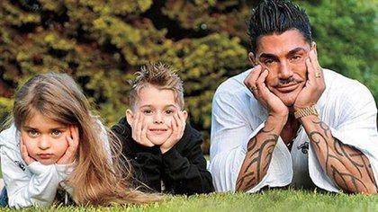 Y Marta y Felipe ya más grandes, en una de sus últimas imágenes juntos
