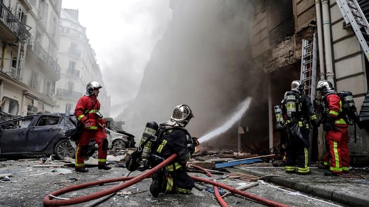 (Photo by Thomas SAMSON / AFP)