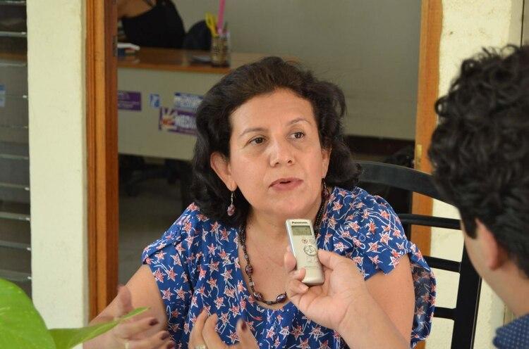 La abogada Juanita Jiménez
