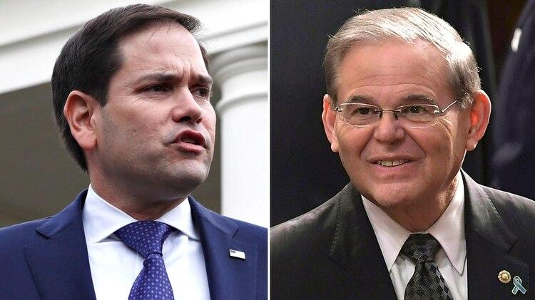 Marco Rubio y Bob Menéndez, presnetaron un proyecto bipartidista en el Senado
