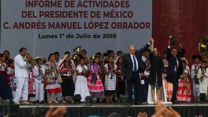 Analistas han catalogado a López Obrador como un político populista (Foto: Cuartoscuro)