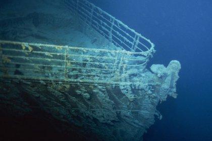 OceanGate ofrece inmersiones en un pequeño submarino para visitar el naufragio del Titanic, a un precio de USD 125.000. (OceanGate Expeditions)