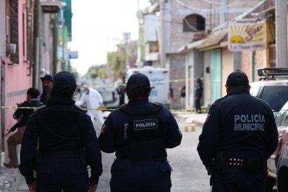 El ataque ocurrió cerca de las 9 de la mañana en la calle Venustiano Carranza esquina Francisco I. Madero. Juan Antonio iba caminando con ropa deportiva cuando fue atacado por hombres armados en un vehículo. (Foto: Cuartoscuro)