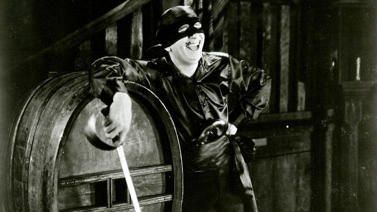 Douglas Fairbanks, el primer intérprete de El Zorro.