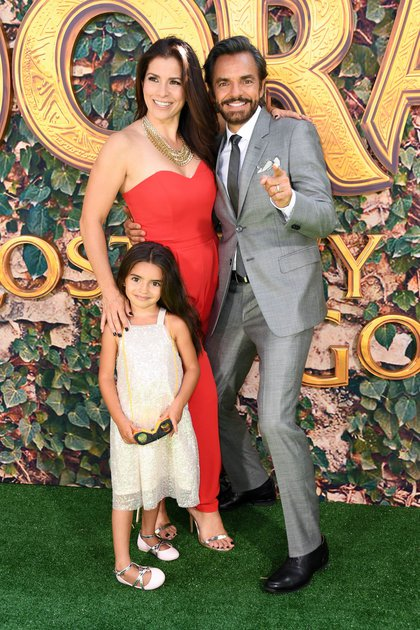 Alessandra and Derbez are the parents of a little girl called Aitana (AFP)