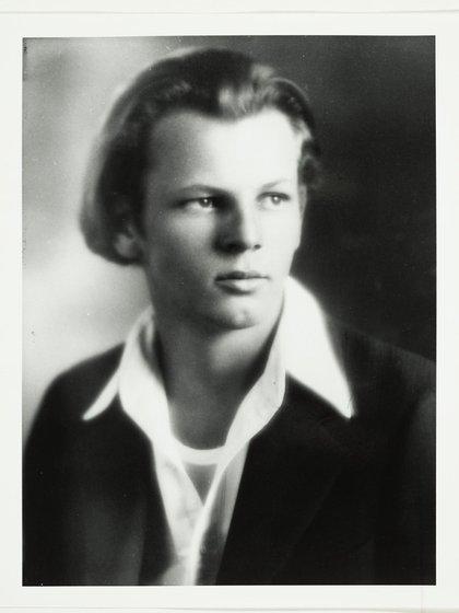 Pollock a los 16 años (Wikipedia)