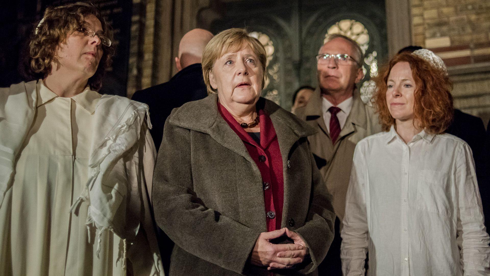 La canciller alemana Angela Merkel (AFP)