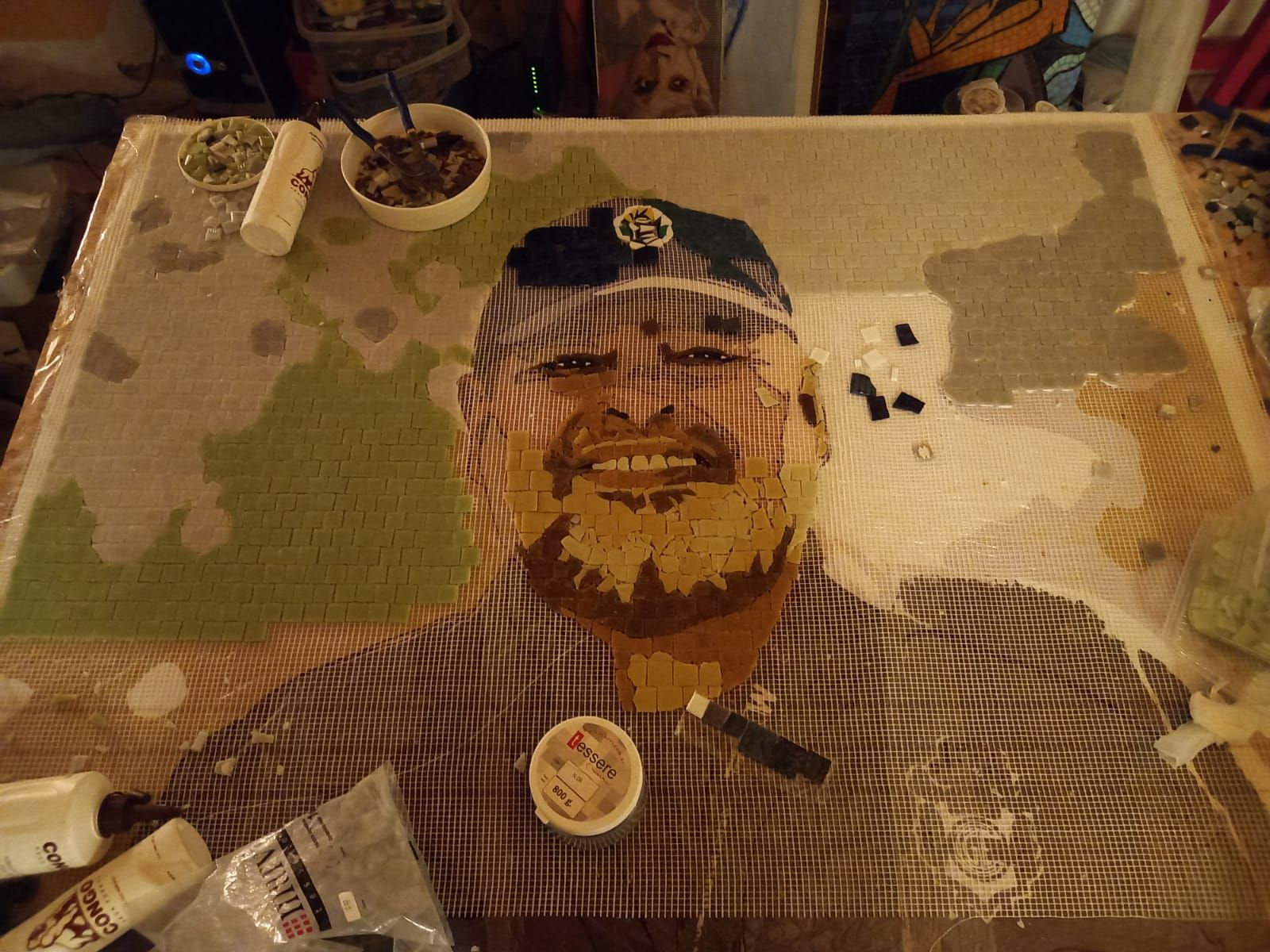 Mural Maradona-Gimnasia