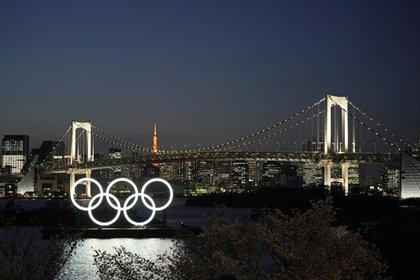 Los Juegos Olímpicos de Tokio 2020 comenzarán el próximos 23 de julio de 2021 (EFE/EPA/FRANCK ROBICHON)