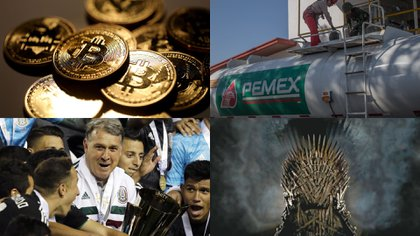 Bitcoin, huachicoleo, Copa Oro y Game of Thrones fueron algunos de los tópicos más consultados en México a lo largo del año. (Foto: Especial)