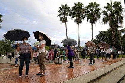 Voto anticipado en Miami, Florida, (AP Photo/Lynne Sladky)