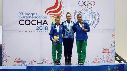 Martina Dominici ganó la medalla de oro en la prueba All Around de los Juegos Sudamericanos Cochabamba 2018