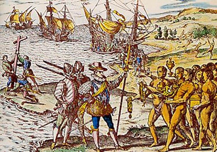 Los españoles llegan a América: el choque bacteriológico fue fatal para los aborígenes