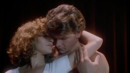 Patrick Swayze y Jennifer Grey en Dirty Dancing