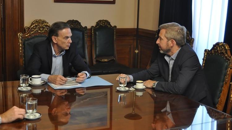 Pichetto y Frigerio (foto de archivo)