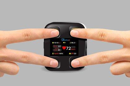 HealthyU está diseñado para el monitoreo remoto de pacientes con problemas cardíacos para controlar su salud todos los días y enviar esa información al equipo médico