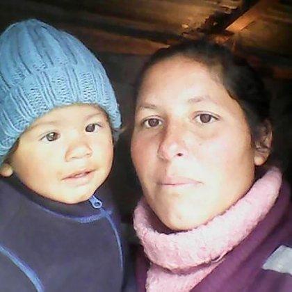 Alejandra también se crió con la abuela