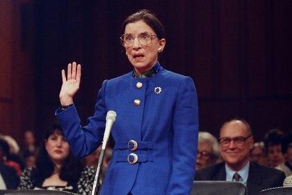 Ruth Bader Ginsburg en 1993 (Reuters)