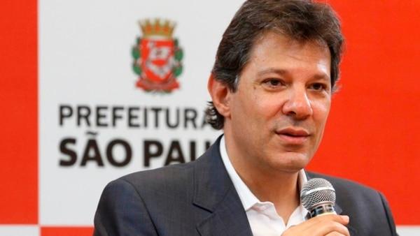 Fernando Haddad, compañero de fórmula de Lula da Silva