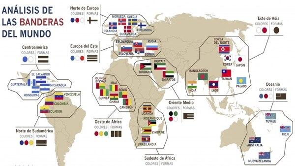 imagenes de banderas del mundo