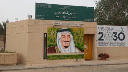 Colegio en Arabia Saudita. (Voice in the desert)