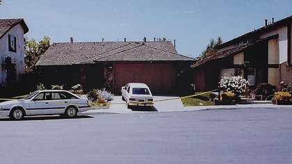 La casa de 13 Encina en Irvine, Califordina, donde Janelle Cruzfue violada y asesinada (FBI)