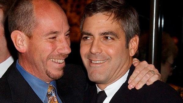 Clooney con su primo Miguel Ferrer