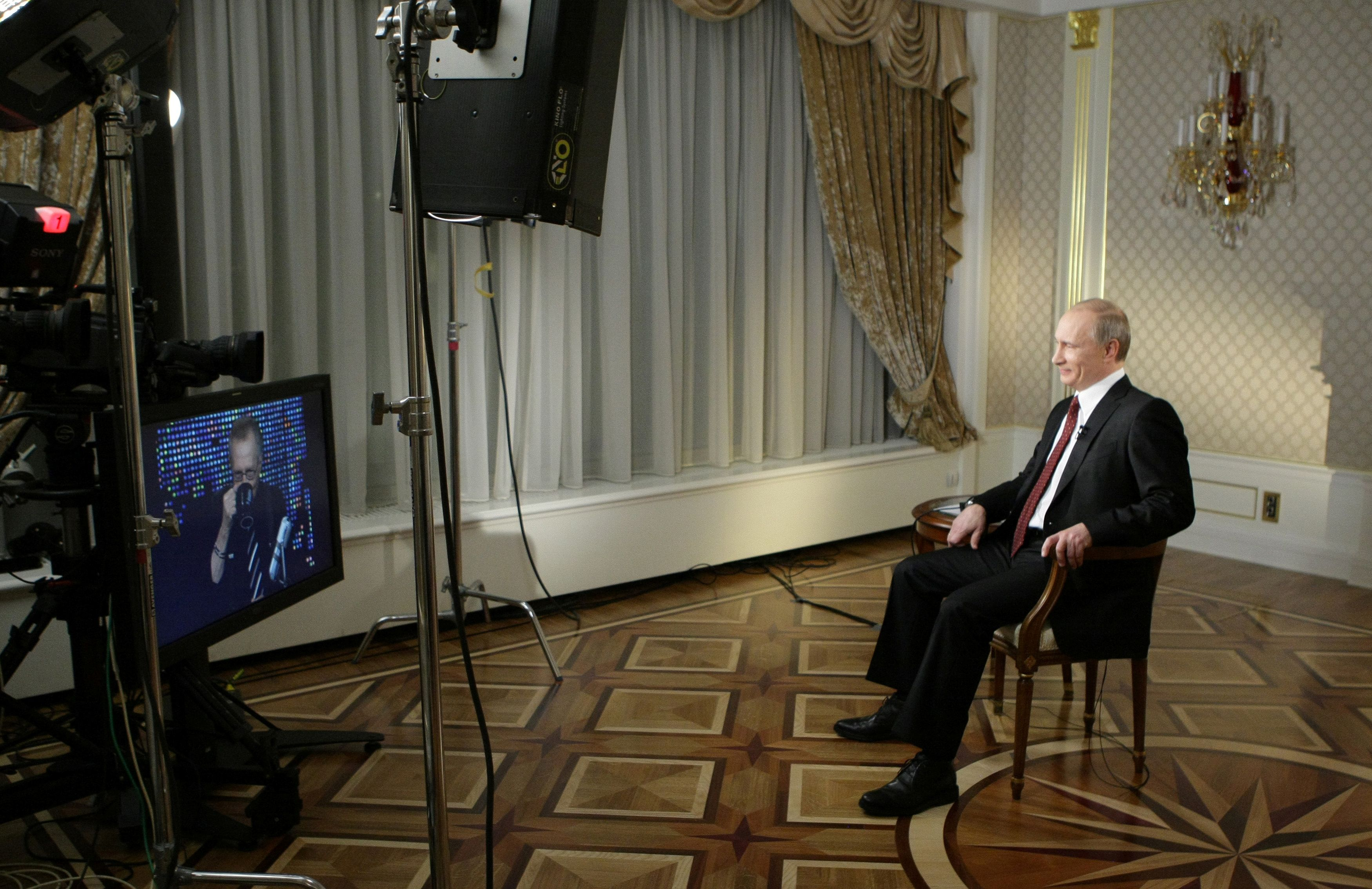 A Putin lo volvió a entrevistar el 30 de noviembre de 2010