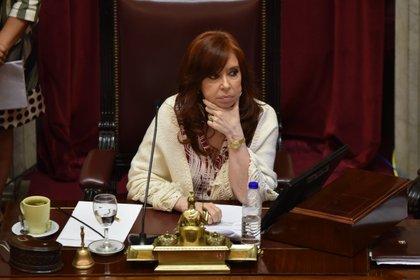 Esta fue el primer debate presidido por Cristina Kirchner.