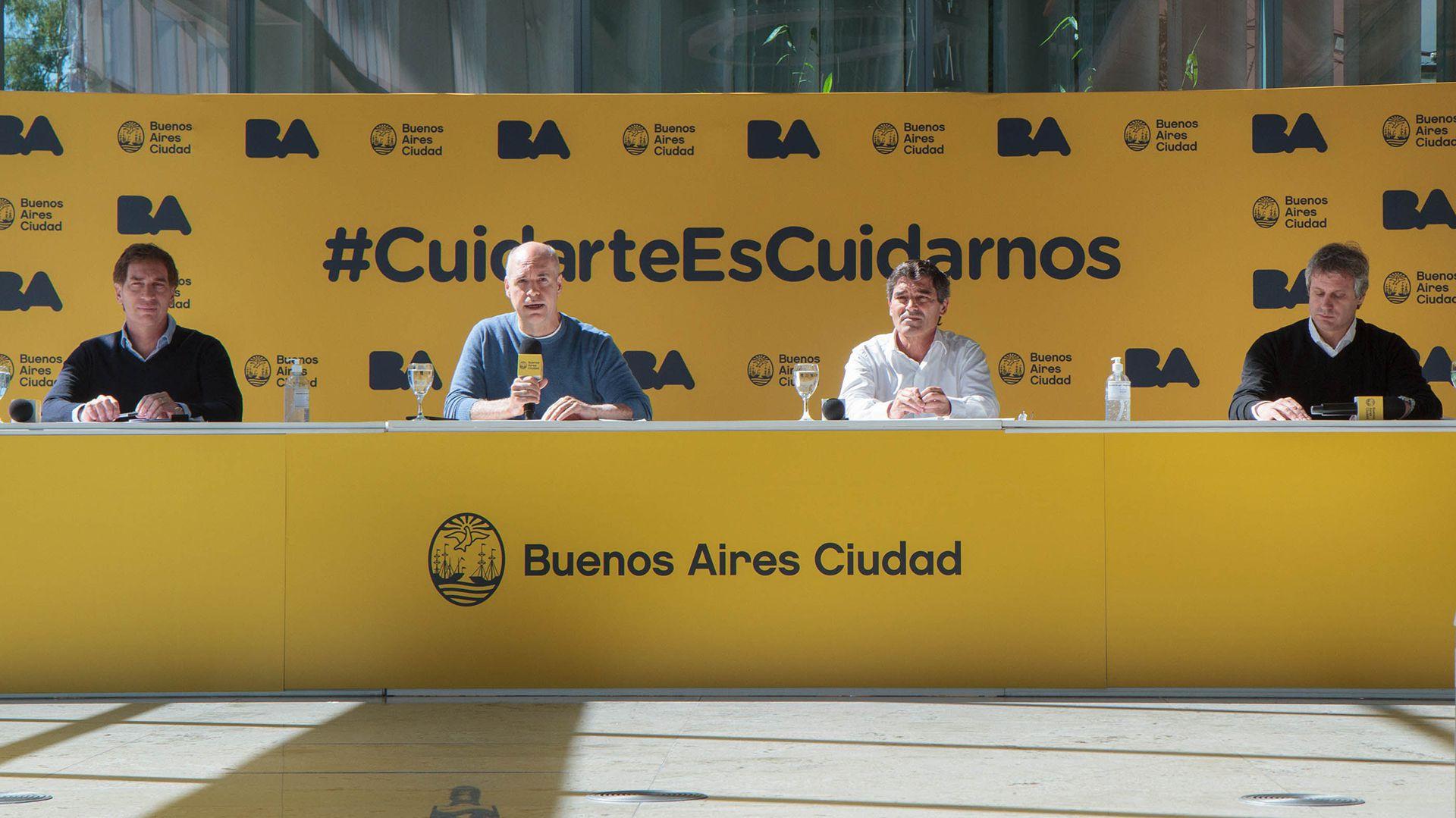 Conferencia Larreta Quirós