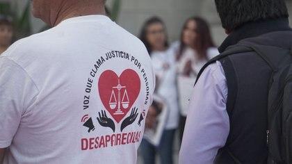 Colectivo de Búsqueda Nacional en Vida por Nuestros Desaparecidos (Foto: Steve Allen/Infobae)