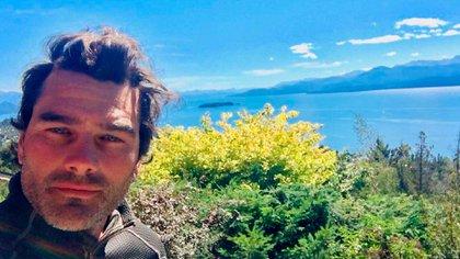 Hernán Drago en el Sur de Argentina, lugar al que se mudará cuando se retire de la profesión (Foto: Instagram)