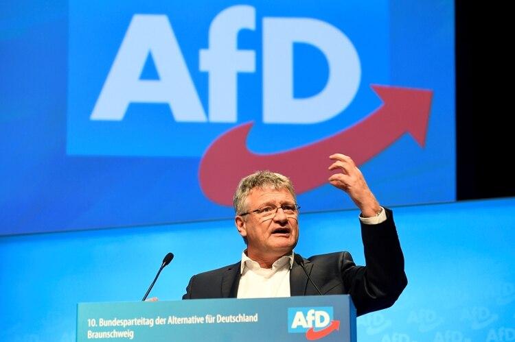 Joerg Meuthen, uno de los presidentes de AfD (REUTERS/Fabian Bimmer)