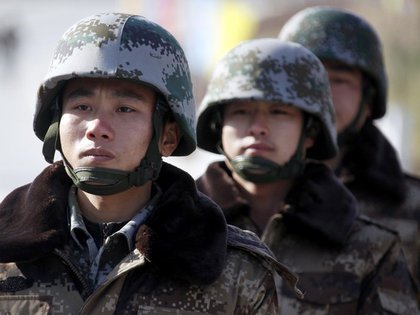 Soldados chinos (Reuters)