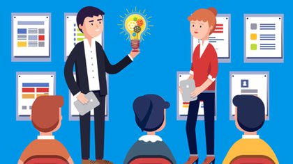 Una idea buena debe estar acompañada de una forma eficaz para comunicarla
