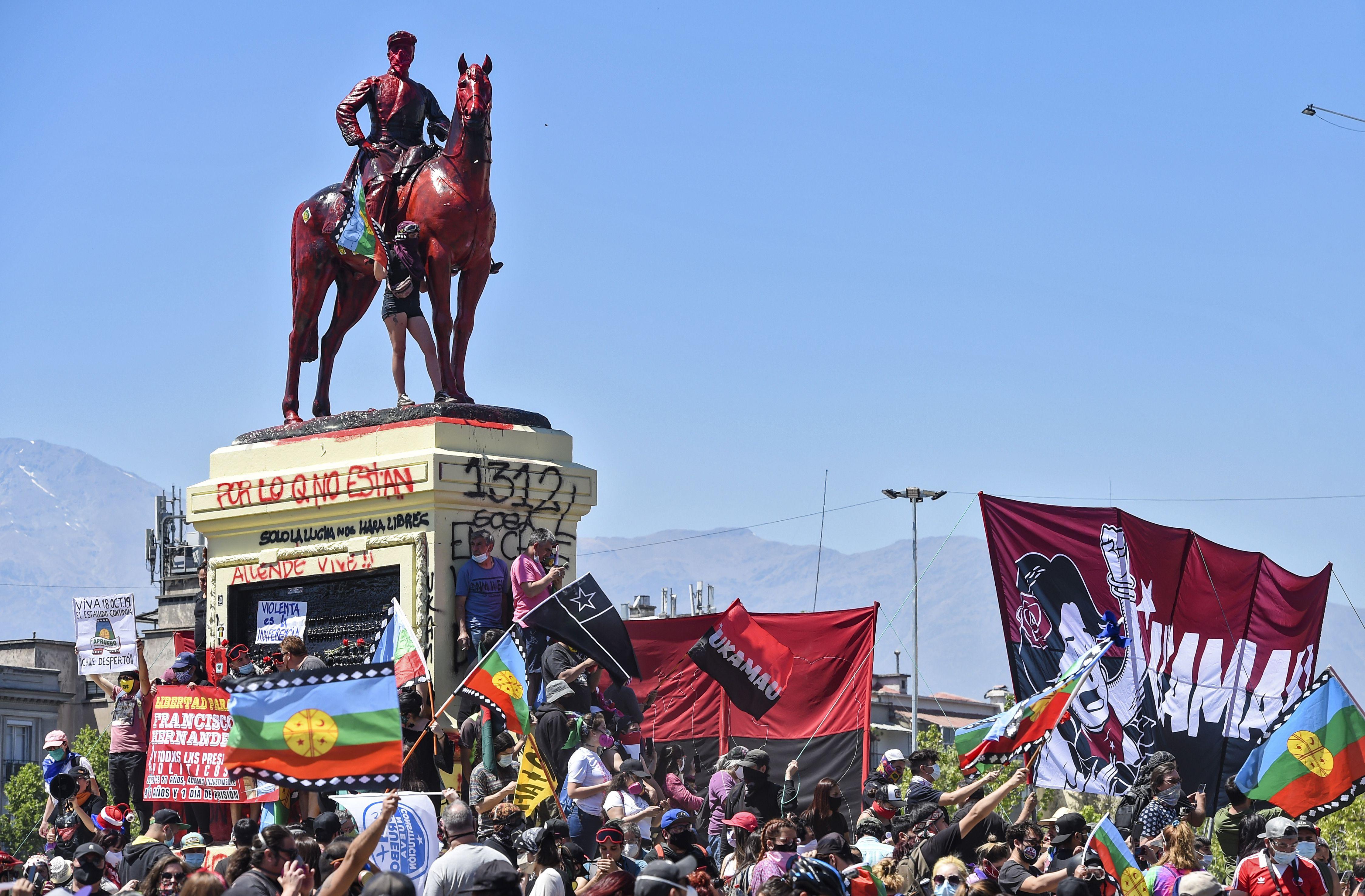 Chile Protestas Aniversario
