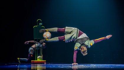 Estreno de Messi10, el espectáculo del Cirque du Soleil inspirado en Lionel Messi (Foto: Nancy Martinez)