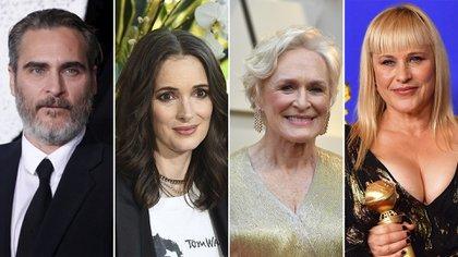 Joaquin Phoenix, Winona Ryder, Glenn Close y Patricia Arquette