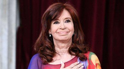 La vicepresidente Cristina Kirchner