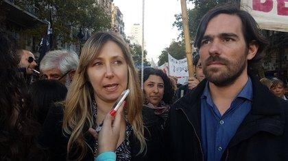 Myriam Bregman y Nicolás del Caño