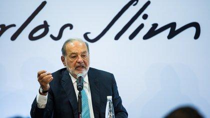 Carlos Slim era uno de los principales inversionistas del viejo aeropuerto (Foto: archivo)