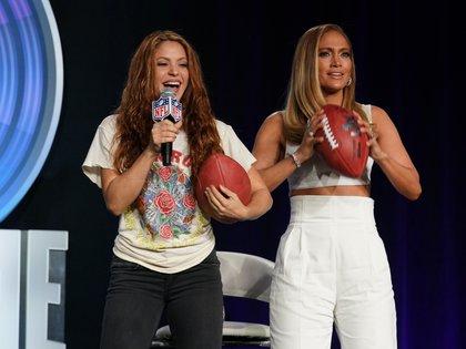 El entretiempo será protagonizado por las cantantes latinas Shakira y Jennifer López  (USA TODAY Sports)