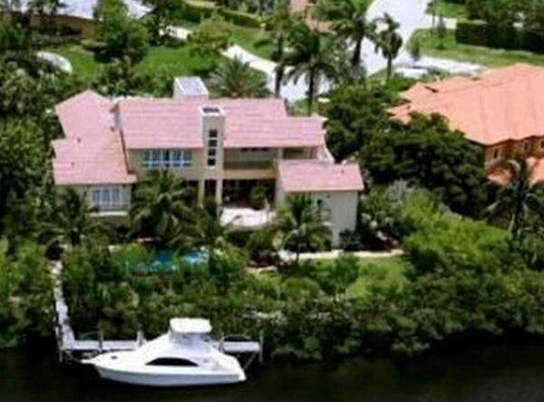 Otra de las mansiones de Gorrín en Miami