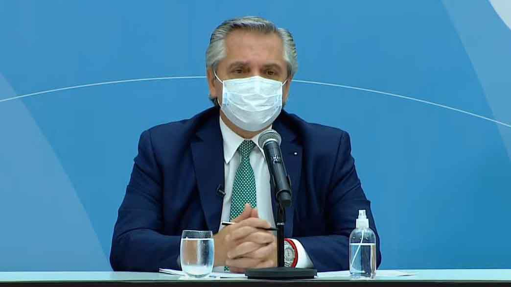 El presidente Alberto Fernández anuncia obras públicas para reforzar el sistema de salud