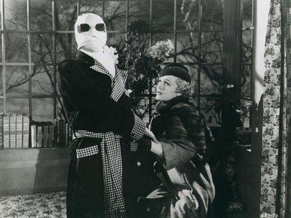 "Gloria Stuart en ""El hombre invisible"", película de 1933 (Foto: Moviestore/Shutterstock)"