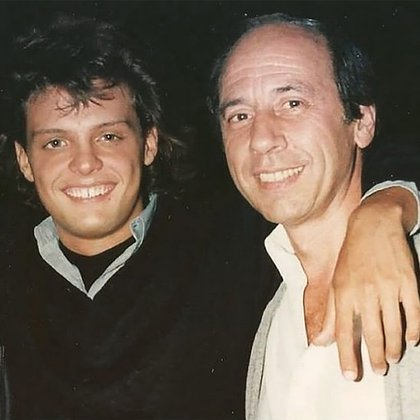 Luis Miguel y Hugo López comenzaron a trabajar juntos a fines de los años '80