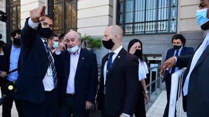 Oscar Parrilli en el homenaje a Néstor Kirchner (Maximiliano Luna)