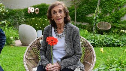 El cumpleaños número 100 de Hilda Bernard (Foto: Teleshow/Maximiliano Luna)