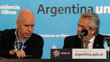 """""""Esto se llama delito de desobediencia"""": Alberto Fernández avaló una acusación contra Rodríguez Larreta por las clases en CABA"""